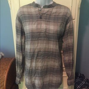 Golden by TNA Plaid Henley